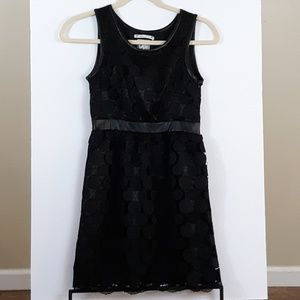 Yoana Baraschi Black Lace Cocktail/Party Dress